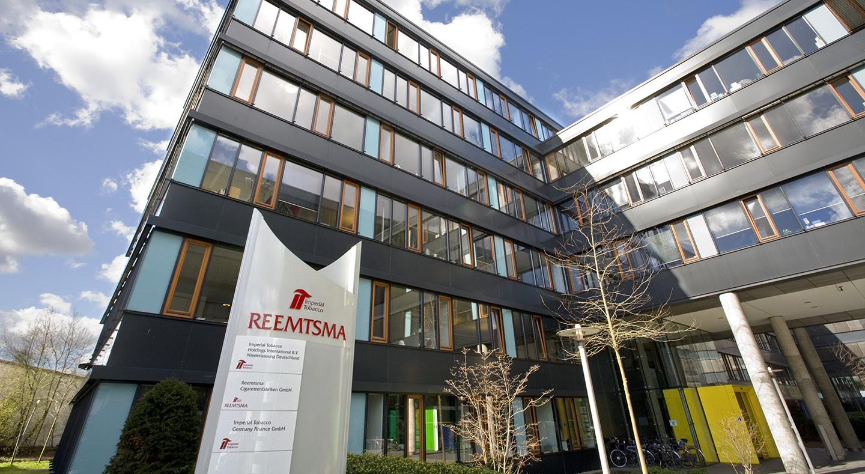Reemtsma, Standort Hamburg, Hauptzentrale, Außenaufnahme